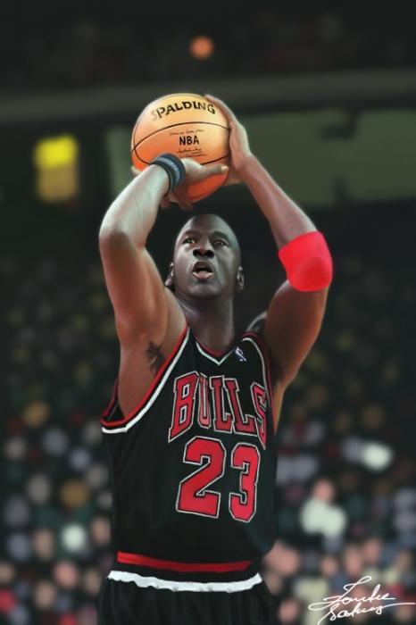 Michael Jordan par JeanettePL